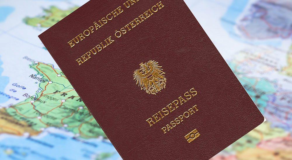 پاسپورت اتریش